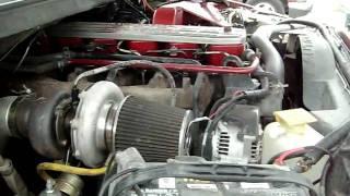 introduction to 1997 dodge ram 2500 4x4 modded 12 valve cummins turbo diesel w exhaust shot