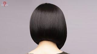 DEMETRIUS Самые ЧАСТЫЕ ОШИБКИ в стрижке КАРЕ Женская стрижка на короткие волосы школа Деметриус