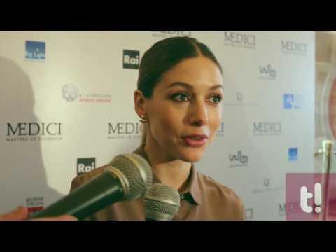 """Sarah Felberbaum presenta la sua Maddalena in """"Medici - Masters of Florence"""""""