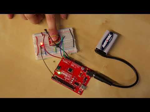 SparkFun MAX30105 - Biometric fingerprint sensor - digital fingerprint scanner