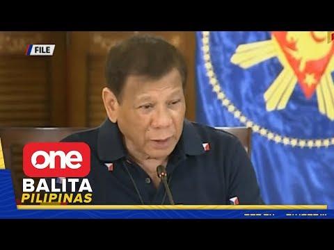 Pasya ni Pres. Duterte sa community quarantine status ng bansa, ipaaalam na