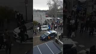 Spain: explosion in madrid destroys ...