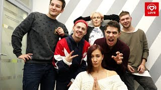Финалисты шоу «ТАНЦЫ» в гостях у Красавцев Love Radio