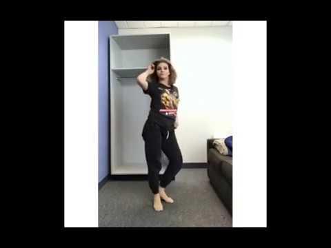 Camren Bicondova twerking  Instagram story