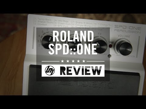 Roland SPD::ONE Percussion Pads   Better Music