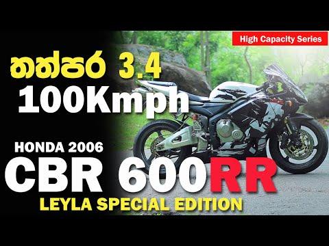 Honda CBR 600RR Leyla Special Edition Full Review in Sinhala | Sri Lanka