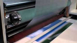 KMM1050D Film Laminator - Hot Knife Cutter - Thermal PET film