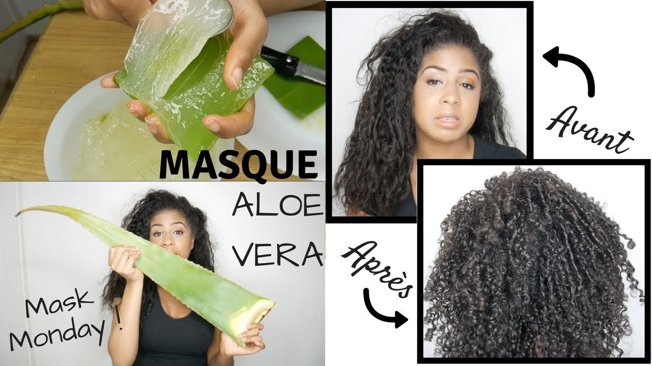 masque cheveux aloe vera i naturalmaskmonday youtube. Black Bedroom Furniture Sets. Home Design Ideas