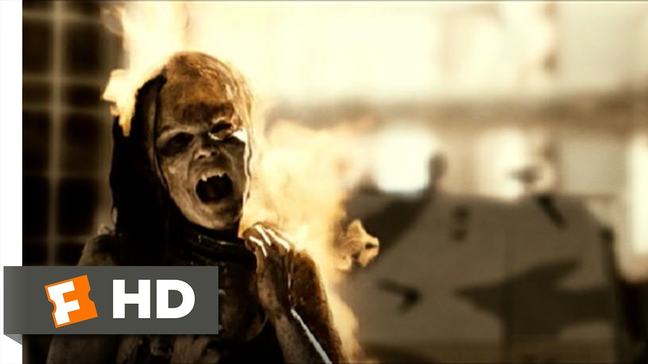Download Daybreakers (9/11) Movie CLIP - Burning the Subsiders (2010) HD