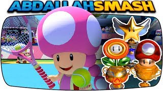 Mario Tennis Aces - ALL Tournament Trophies With Toadette! [Nintendo Switch]