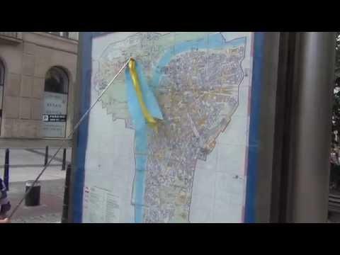 Путешествие по Праге, Карта Праги