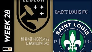 Birmingham Legion FC vs. Saint Louis FC: September 13th, 2019