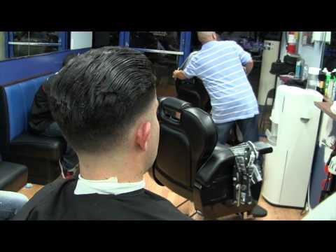 New York Barber Shop – Rockabilly Pompadour ( inthecut305 )