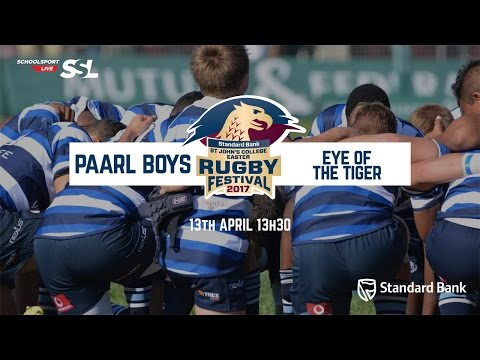 St John's Fest: Paarl Boys XV vs Eye of the Tiger XV, 13 April 2017