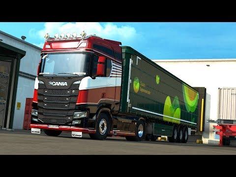 ETS2 1.30 open beta NextGen Scania S580 Milano - Klagenfurt
