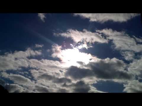 Weird clouds hiding a fleet of extradimensional ships