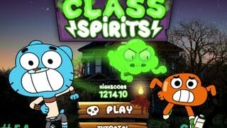 Games: The Amazing World of Gumball - Class Spirits