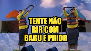 TOP 5 MELHORES MOMENTOS DE BABU E PRIOR BBB20/ MOMENTOS MAIS ENGRAÇADOS