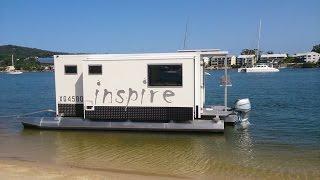 Transformis Inspire The Trailerable houseboat