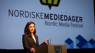 Hadia Tajik åpner Mediedagene 2013