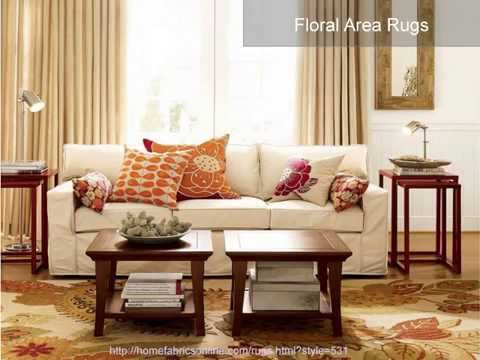 Home Fabrics and Area Rugs That Make Perfect Your Room Decoration