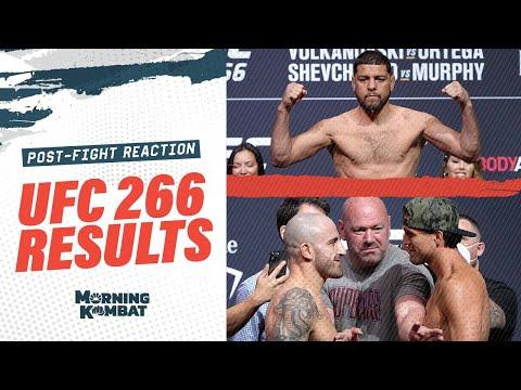 [Spoiler] UFC 266 Results: Alexander Volkanovski vs. Brian Ortega | Nick Diaz | Post-Fight Show