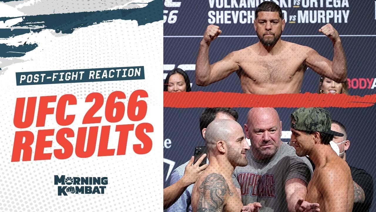 UFC 266: Alex Volkanovski, Brian Ortega, Valentina Shevchenko ...