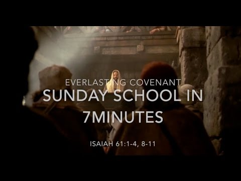 Sunday School in 7minutes Sept 25 edition