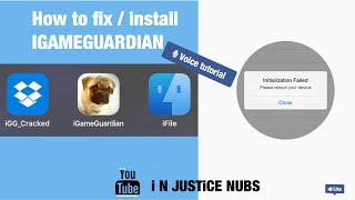 HOW TO FIX IGAMEGAURDIAN INSTALLATION FAILURE (ios9) jailbreak