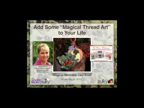 Add Some  Magical Thread Art  to Your Projects