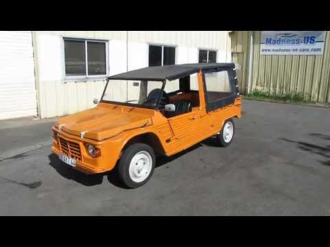 Favori Citroen Mehari 1973 Orange Kirghiz - YouTube OS94