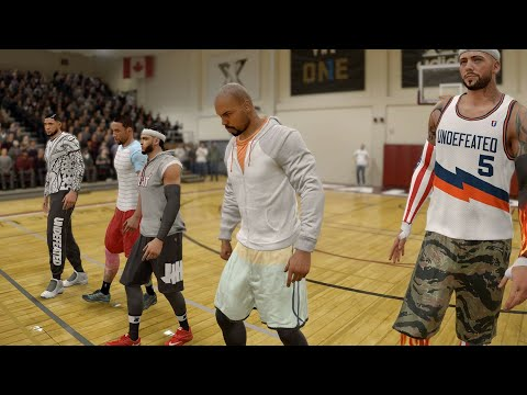 NBA LIVE 18 - Crazy 5v5 Pick Up Game - PS4 PRO 1080p - HD