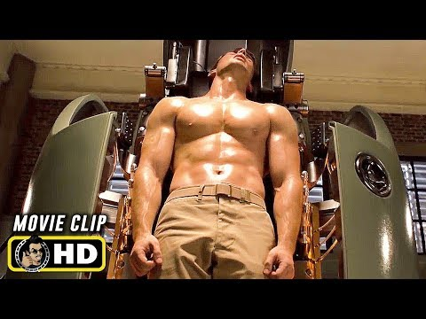 CAPTAIN AMERICA (2011) Clip - Transformation Scene [HD]