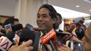 KJ: I am not aware of talks to 'divorce' Ahmad Zahid