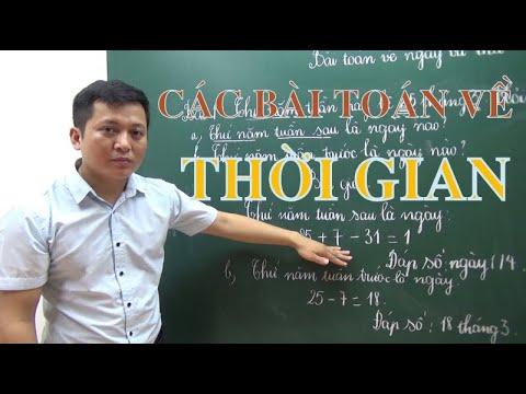 [Toán nâng cao lớp 3 ] Các bài toán về NGÀY và THỨ - Thầy Khải- SĐT: 0943734664