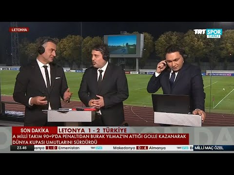 Milli Maç Özel   Letonya-Türkiye   97 yıl sonra gelen galibiyet, Stefan Kuntz'un gözyaşları...