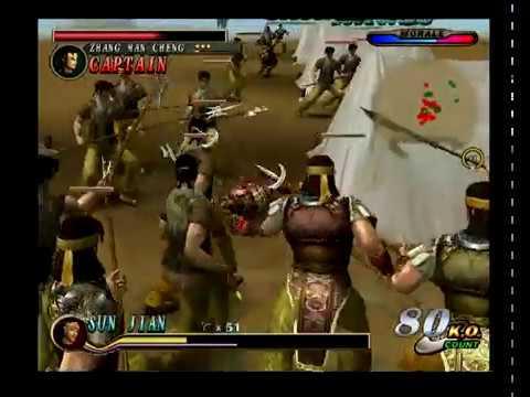 Dynasty Warriors 2 - The Yellow Turban Rebellion - He Jin Forces: Sun Jian (Español)