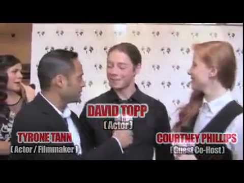 DAVID TOPP w  TYRONE TANN & COURTNEY PHILLIPS   35th Annual Young Artist Awards