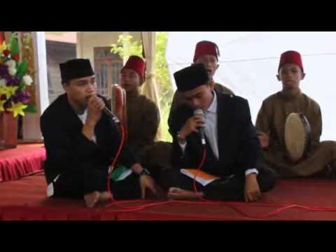 Penampilan grup Hadrah MA PHI di Kuala Tungkal (1)
