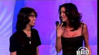 Janice Dickinson cusses out Sanjaya at 2007 Really Awards