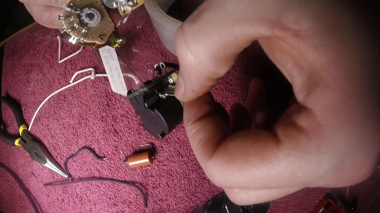 Building A Custom Ibanez Rg Hsh Wiring Harness With A Push