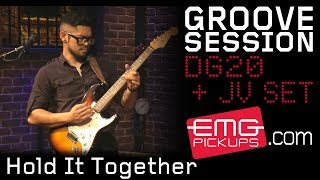 "GrooveSession plays ""Hold It Together"" live on EMGtv"