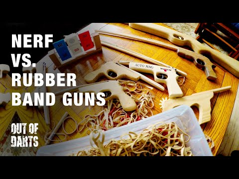 FUN: Nerf VS. Rubberband guns!