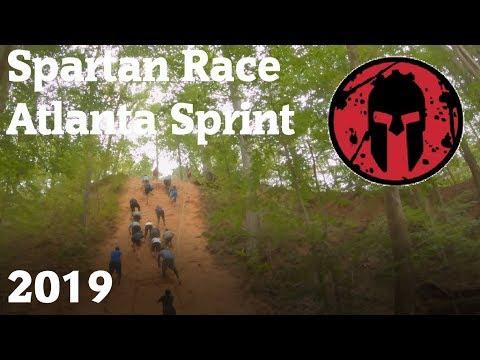 Spartan Race Atlanta Sprint 2019 - All Obstacles
