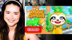 ANIMAL CROSSING: NEW HORIZONS | April Free Update | Nintendo Switch | Reaction