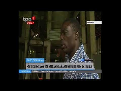 Cabinda Fábrica de Sassa Zau paralisada há mais de 30 anos