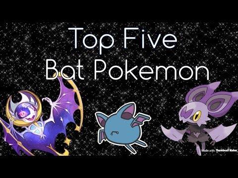 Top Five Bat Pokemon!