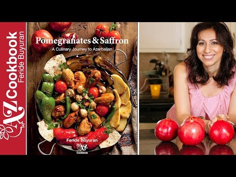 """Pomegranates and Saffron: A Culinary Journey to Azerbaijan"" | Cookbook Trailer"