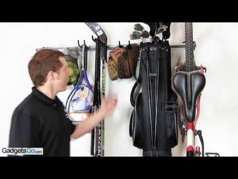 Small Sports Storage Rack By Monkey Bars