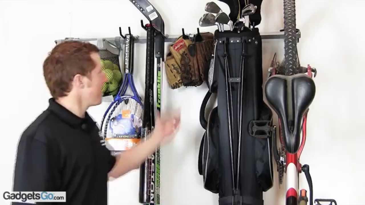 Charming Small Sports Storage Rack By Monkey Bars